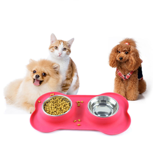 Easy To Clean Silicone Waterproof Non-slip Pet Dog Cat Feeding Tray Bowl Mat, Silicone Pet Feeding Mat