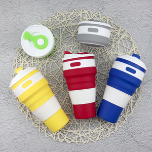 500ml Collapsible Silicone Coffee Cup