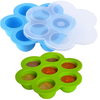 BPA Free Silicone Egg Bites Mold, Silicone Baby Food Storage Container Egg Storage 2020