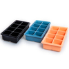 E Spring 2nd Large Silicone Ice Cube Tray 4/6/8 Cavity Durable